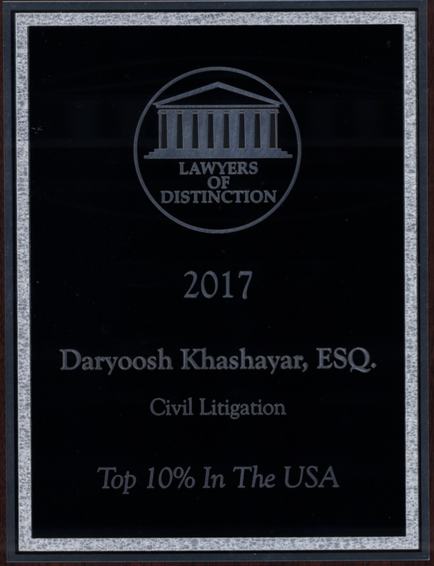 Lawyers of Distinction 2017